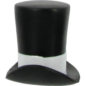 Top Hat Stress Ball Imprinted with Your Logo