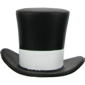 Top Hat Stress Ball for Advertising