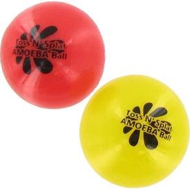 Logo Toss N' Splat Amoeba Ball