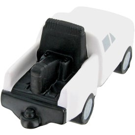 Monogrammed Tow Truck Stress Toy