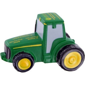 Custom Tractor Stress Toy