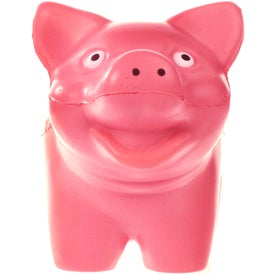 Imprinted Pig Stress Ball