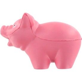 Advertising Pig Stress Ball