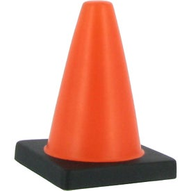 Traffic Cone Stress Reliever Giveaways