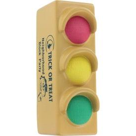 Monogrammed Traffic Light Stress Ball