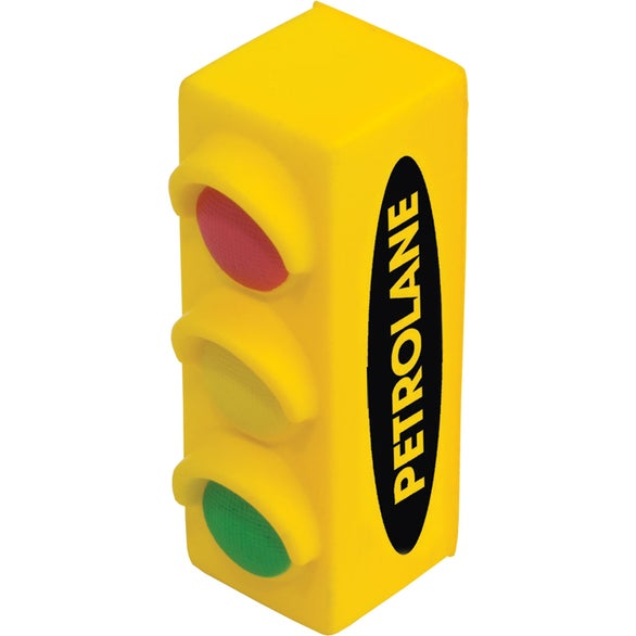 Yellow Traffic Signal Stress Reliever