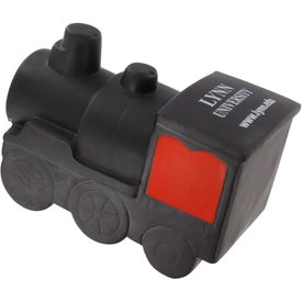 Printed Train Engine Stress Ball