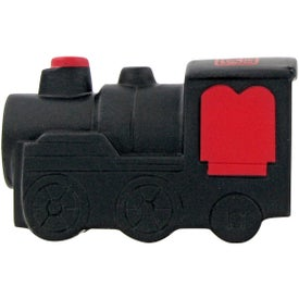 Train Engine Stress Toy Printed with Your Logo