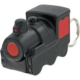 Custom Train Keychain Stress Toy