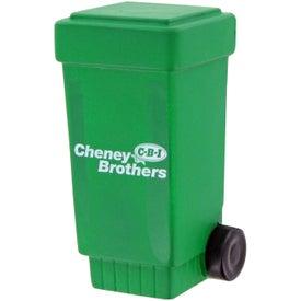 Advertising Trash Stress Toy