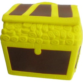 Imprinted Treasure Chest Stress Ball