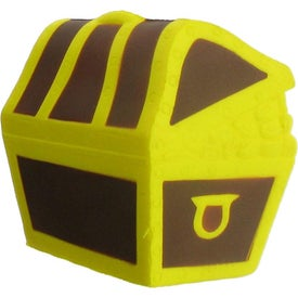 Customized Treasure Chest Stress Ball