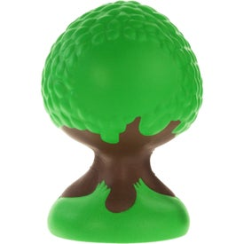 Branded Tree Stress Ball