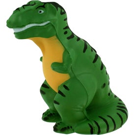 T-Rex Stress Reliever with Your Slogan