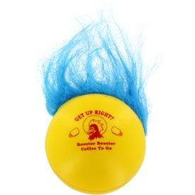 Branded Troll Stress Ball