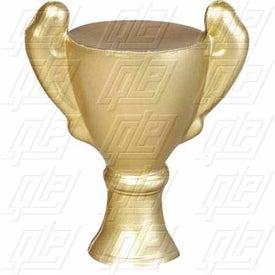 Trophy Key Chain Stress Ball