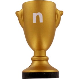 Trophy Stress Reliever Imprinted with Your Logo