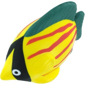 Monogrammed Tropical Fish Stress Reliever