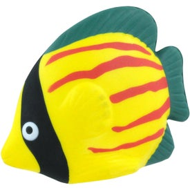 Custom Tropical Fish Stress Reliever