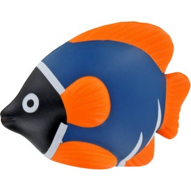 Imprinted Tropical Fish Stress Ball