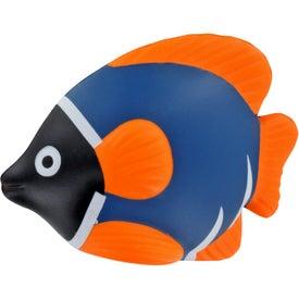 Imprinted Tropical Fish Stress Ball