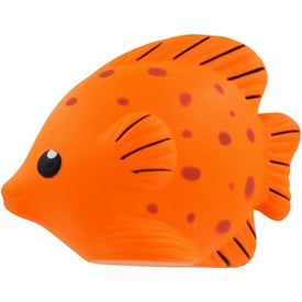 Branded Tropical Fish Stress Ball