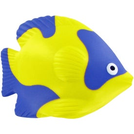 Tropical Fish Stress Toy Printed with Your Logo