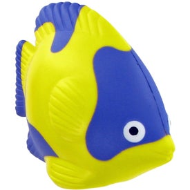 Logo Tropical Fish Stress Toy