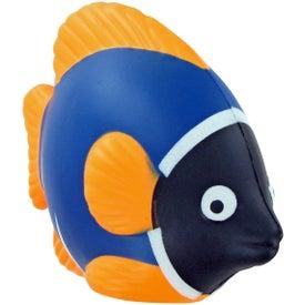 Logo Tropical Fish Stress Toy