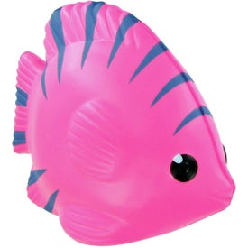 Tropical Fish Stress Toy with Your Logo