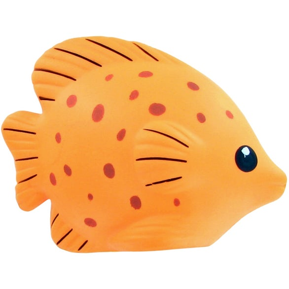 Orange Tropical Fish Stress Toy