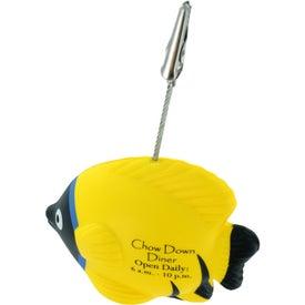 Company Tropical Fish Stress Ball Memo Holder