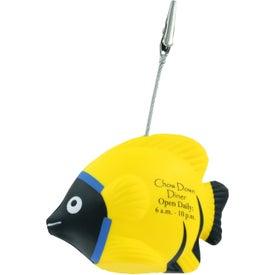 Logo Tropical Fish Stress Ball Memo Holder