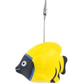 Tropical Fish Stress Ball Memo Holder