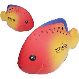 Logo Tropical Fish Wobbler Stress Ball