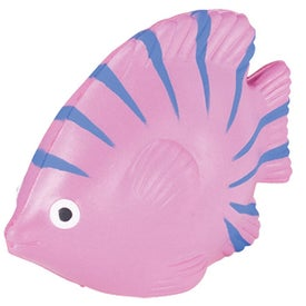 Tropical Fish Stress Ball for Marketing