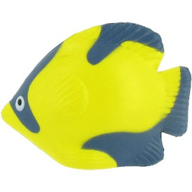 Tropical Fish Stress Ball with Your Slogan