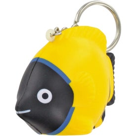 Tropical Fish Stress Ball Key Chain for Your Church