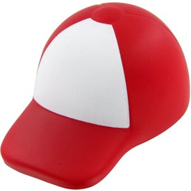 Trucker's Hat Stress Toy with Your Slogan