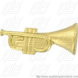 Imprinted Trumpet Stress Ball