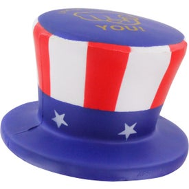 Custom Uncle Sam Hat Stress Ball