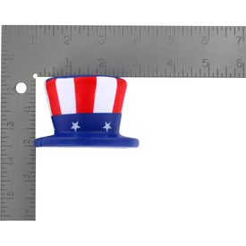 Printed Uncle Sam Hat Stress Ball