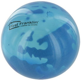 Promotional Earth UniQgel Stress Ball Squeezer