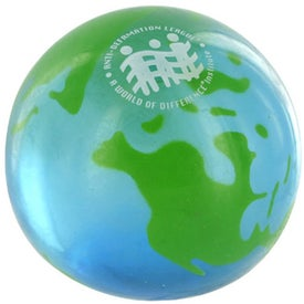 Earth UniQgel Stress Ball Squeezer for Promotion