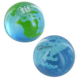 Earth UniQgel Stress Ball Squeezer