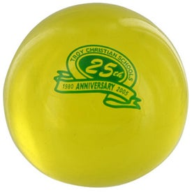 Round UniQgel Stress Ball Squeezer with Your Logo
