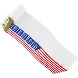Branded US Flag Stress Ball