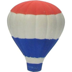 Patriotic Hot Air Balloon Stress Ball for Marketing