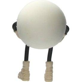 Branded Patriotic Figure Stress Ball