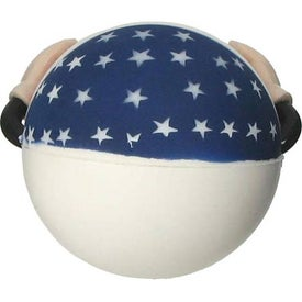Patriotic Figure Stress Ball for your School